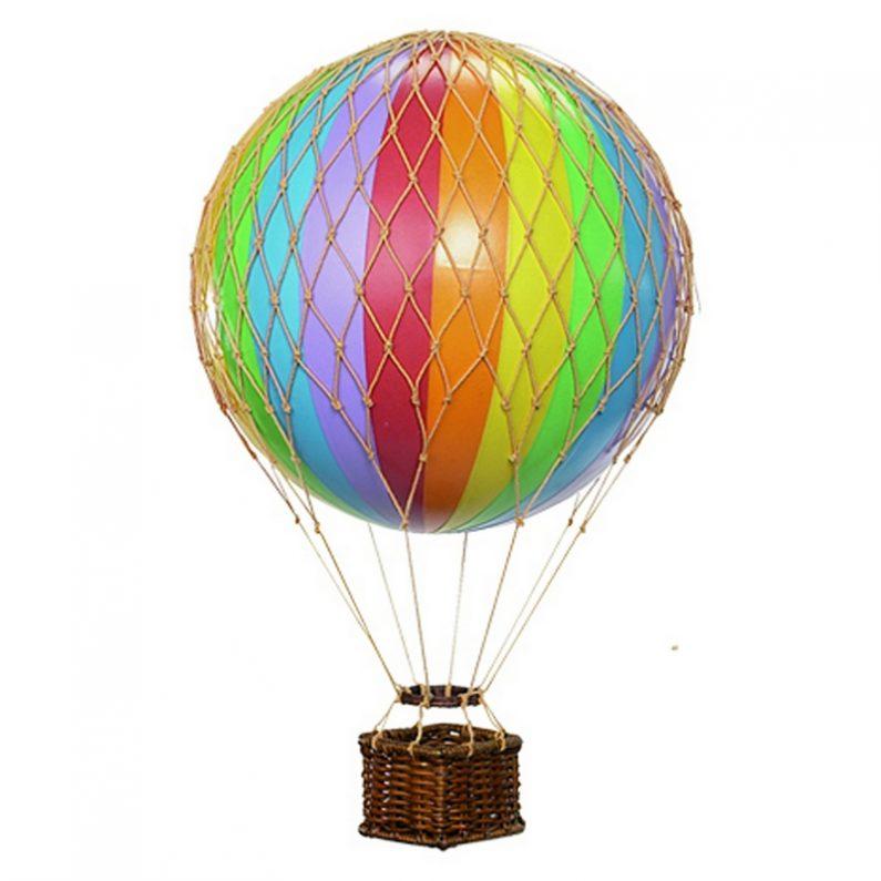 Jules Verne Balloon Rainbow