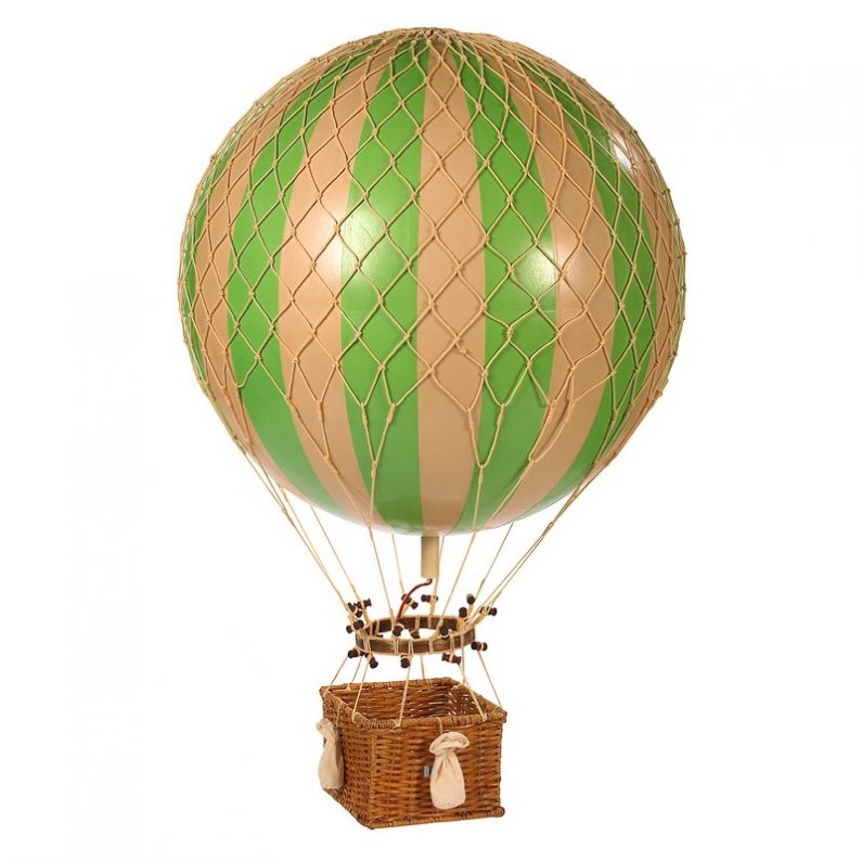 Jules Verne Balloon Green