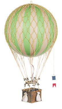 Royal Aero Hot-Air Balloon Green