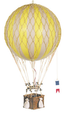 Royal Aero Hot-Air Balloon Yellow