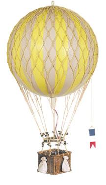 Royal Aero Hot-Air Balloon Yellow