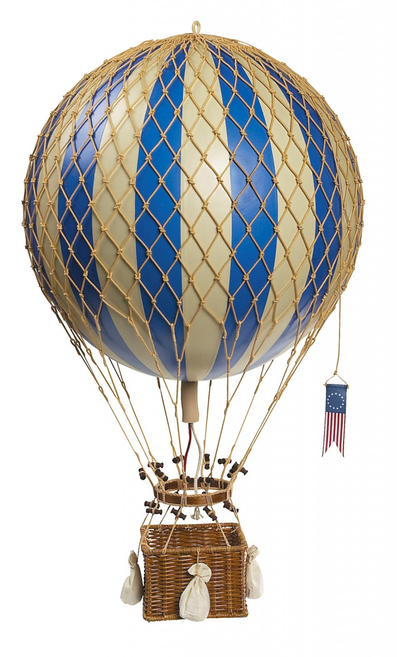 Royal Aero Hot-Air Balloon  Blue