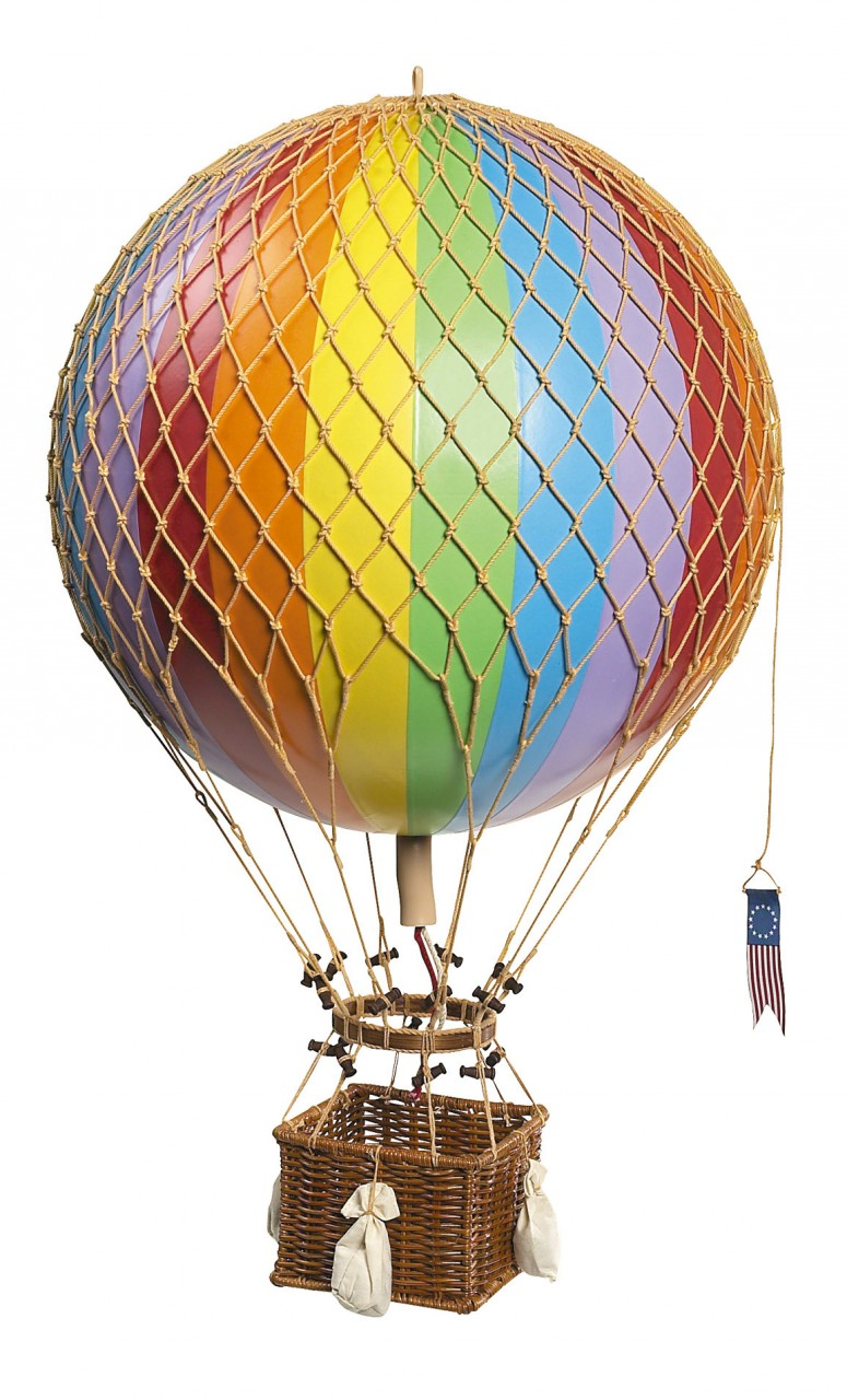 Royal Aero Hot-Air Balloon Rainbow