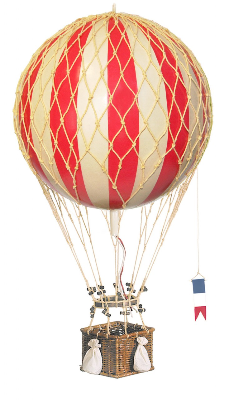 Royal Aero Hot-Air Balloon Red