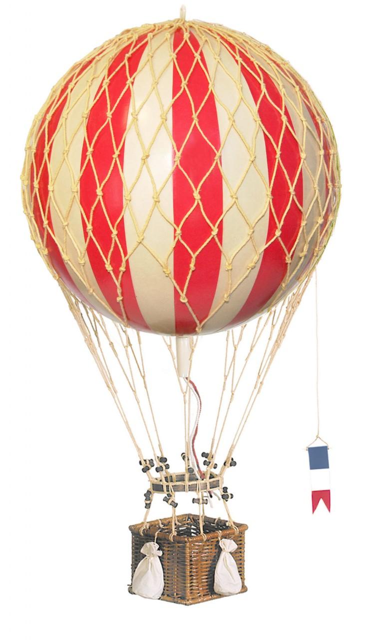 Royal Aero Hot-Air Balloon Red