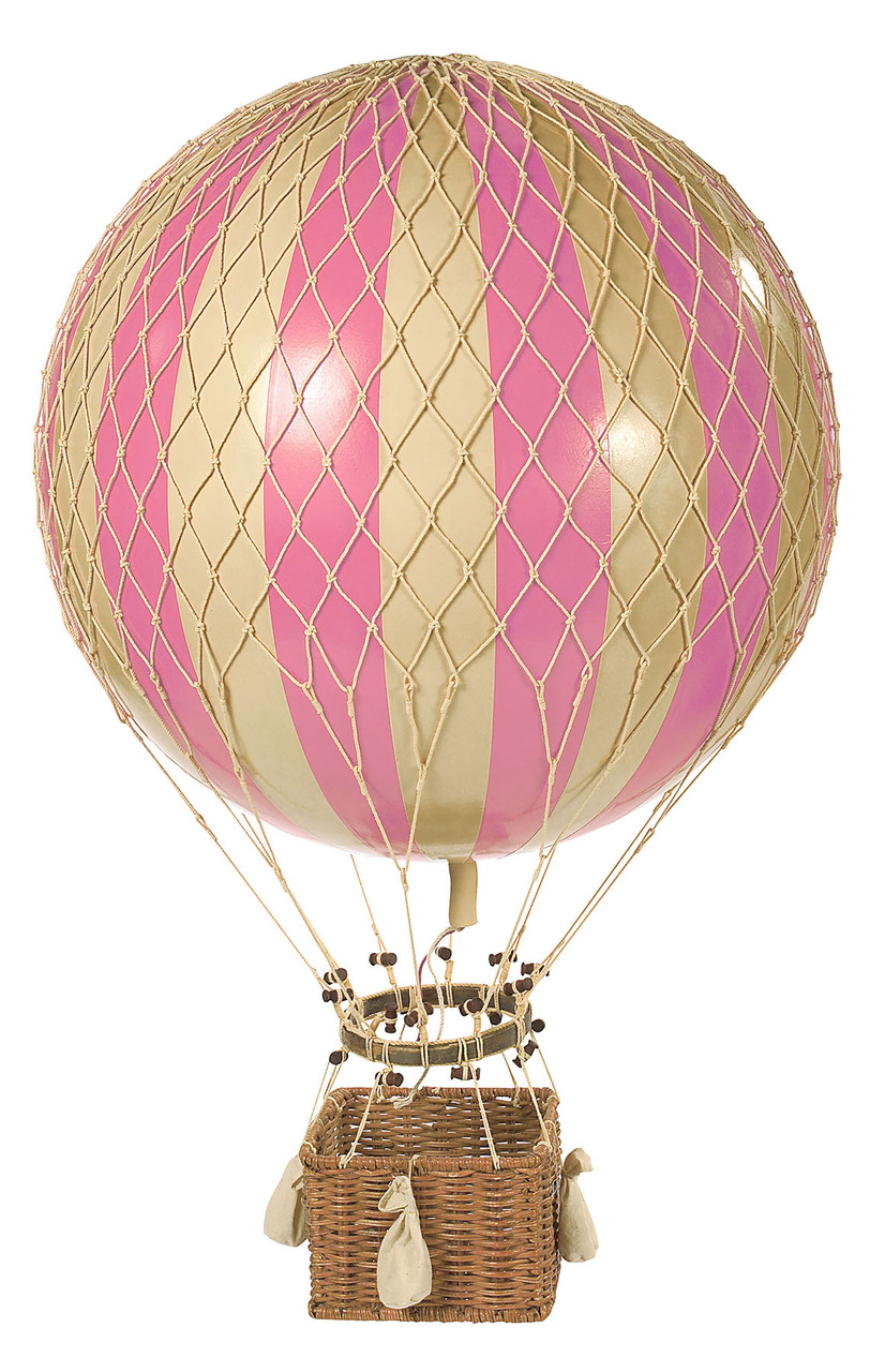 Floating the Skies Hot-Air Balloon Pink