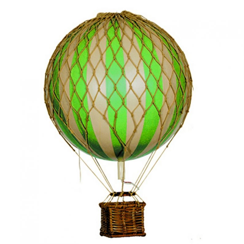 Floating the Skies Hot-Air Balloon Green