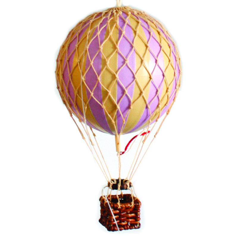 Floating the Skies Hot-Air Balloon Lavender