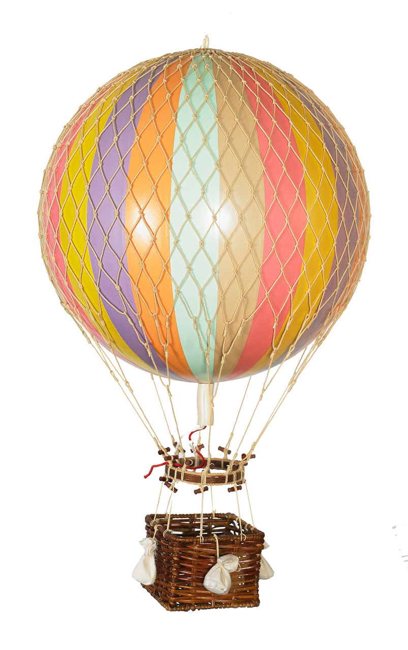 Travels Light Balloon Pastel Rainbow