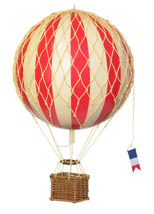 Travels Light Balloon Red