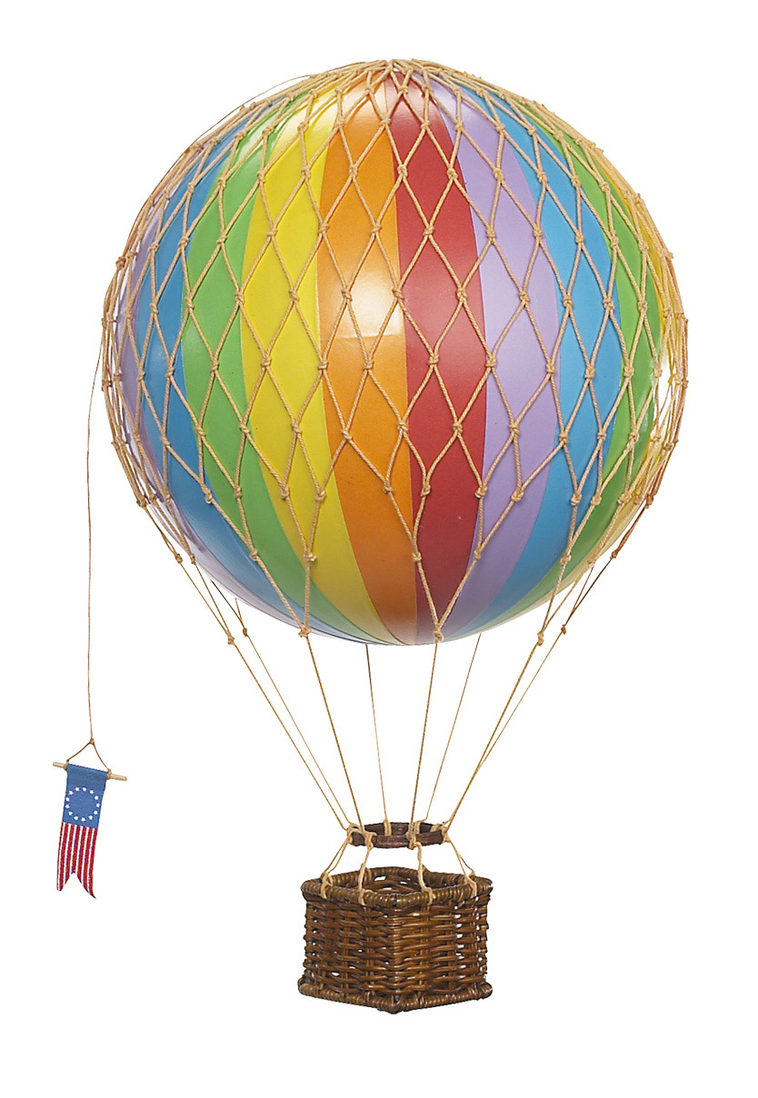 Travels Light Balloon Rainbow