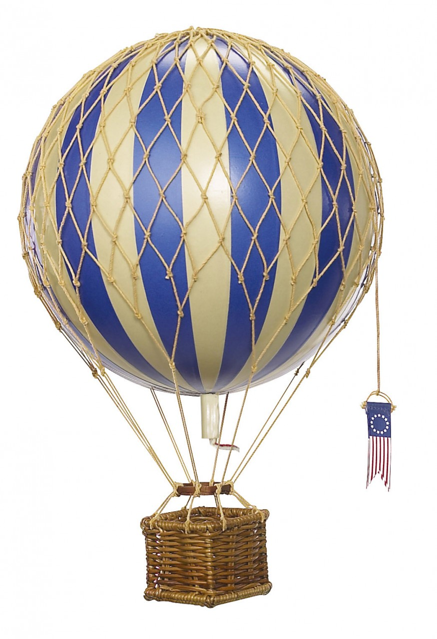 Travels Light Balloon Blue