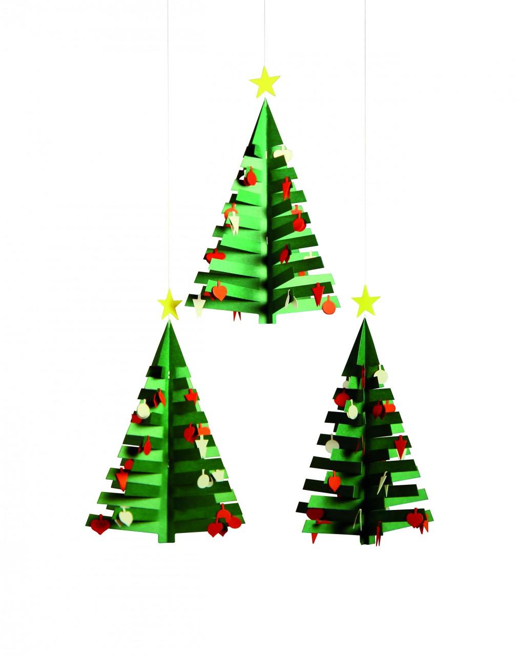 Flensted Advent Calendar Tree 3 Mobile