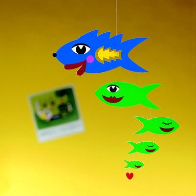 Flensted Kiss Fish Mobile