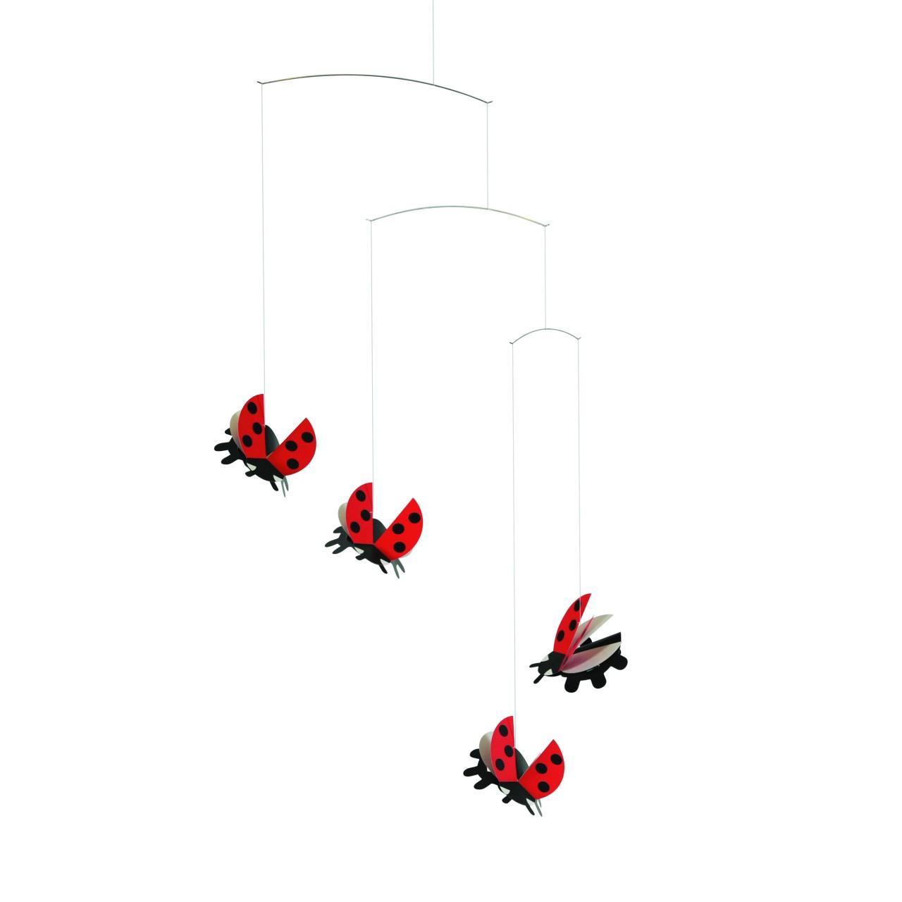Flensted Ladybird Mobile