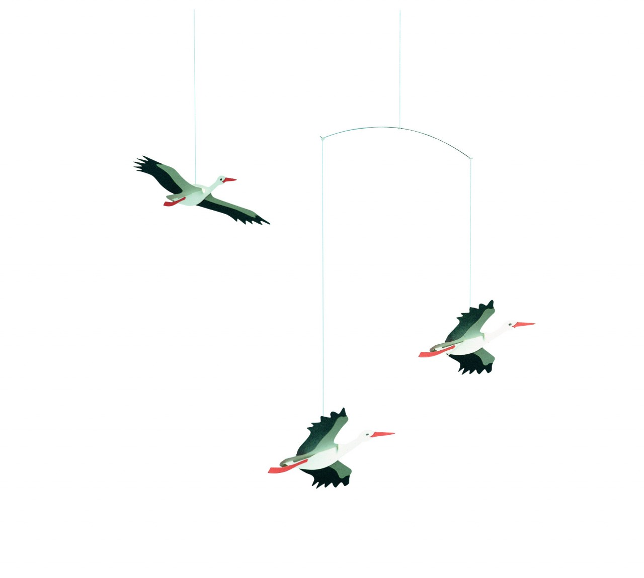 Flensted Lucky Storks Mobile