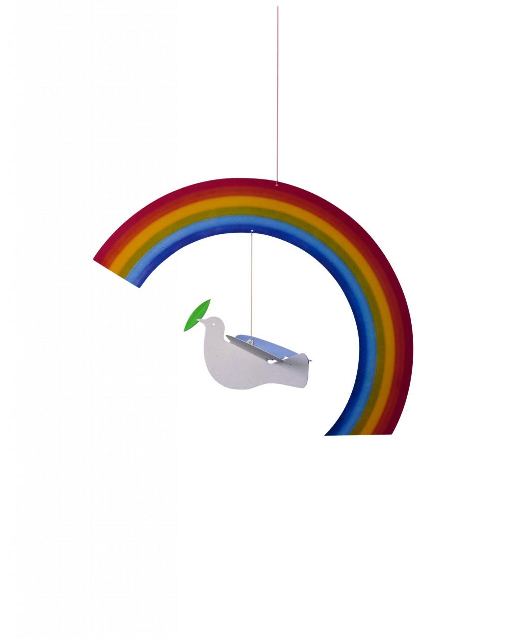 Noah's Rainbow Mobile