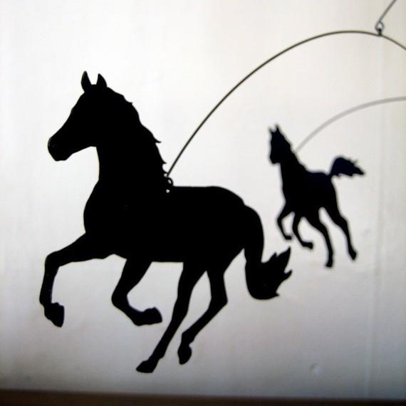 Salty & Sweet Hold Yer Horses Mobile