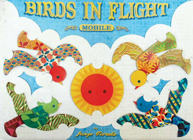 Birds in Flight Mobile Packaging