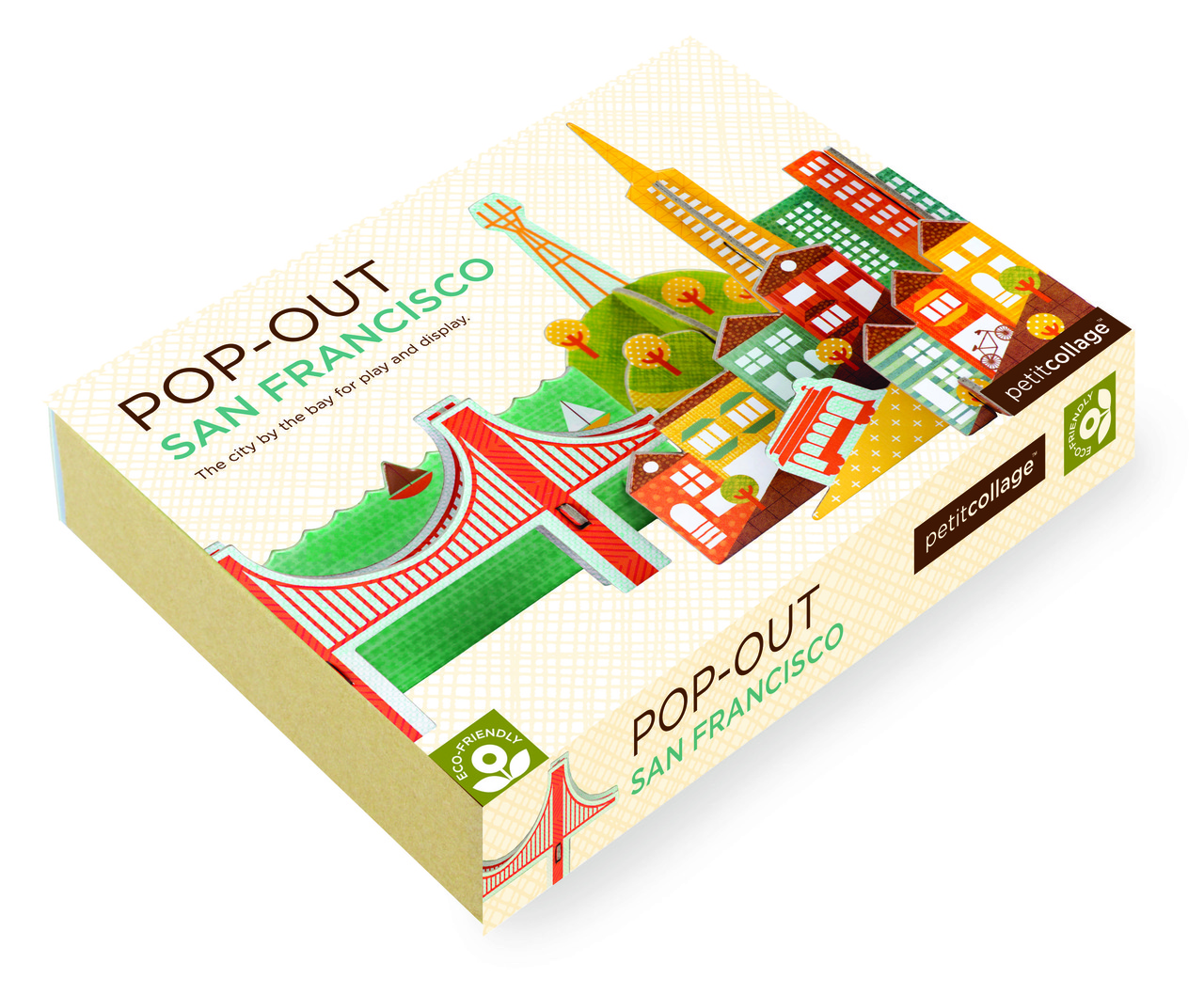 Pop-out and Play San Francisco Packaging