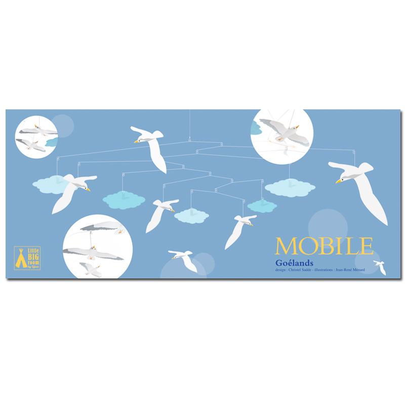 Djeco Seagulls Mobile Box