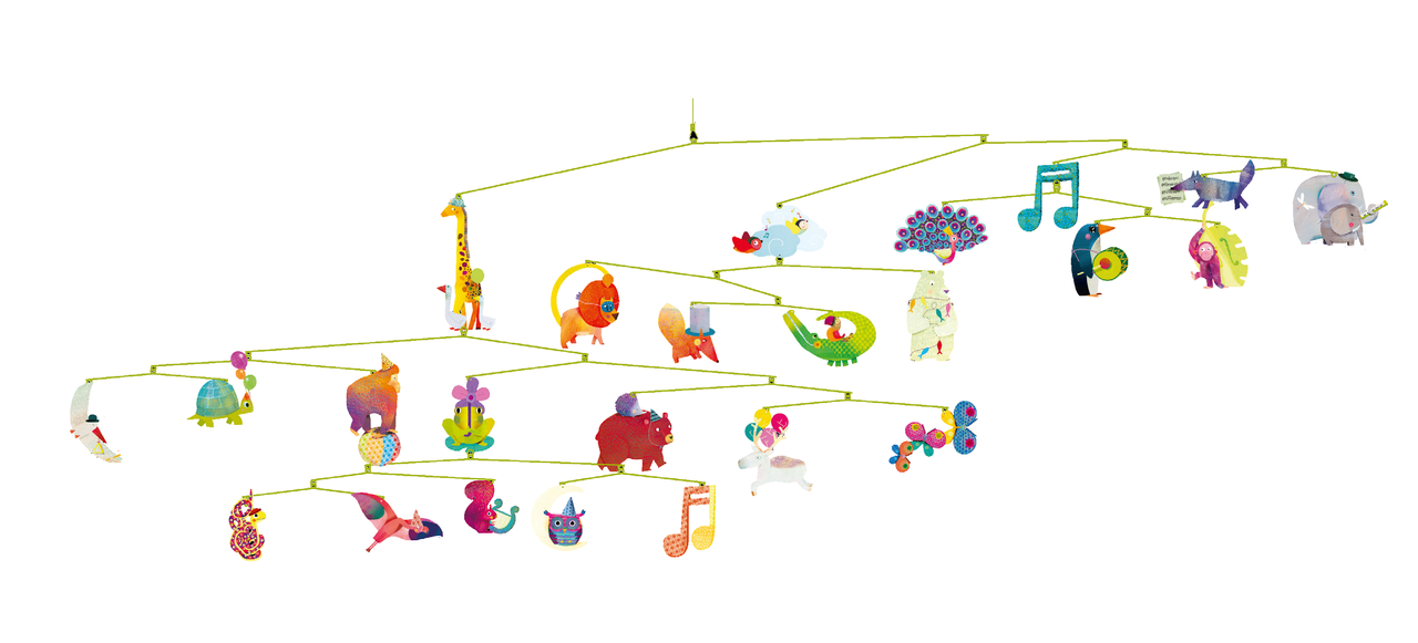 Djeco Carnival of Animals Mobile