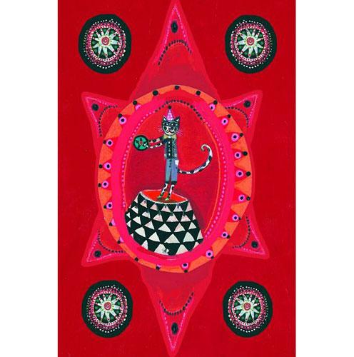 Djeco Flamenco Wall Mobile Card