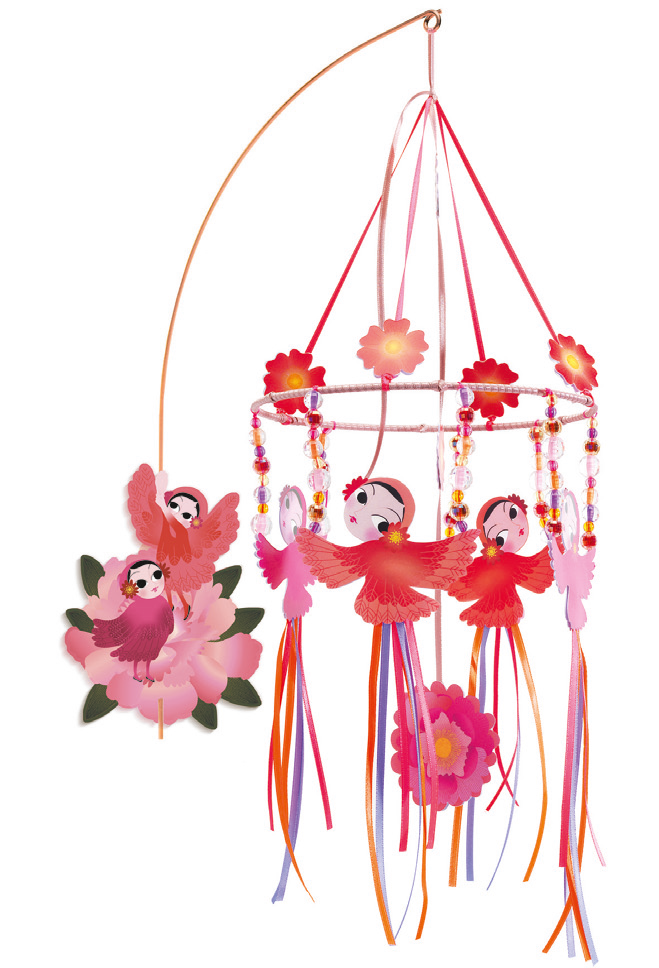 Djeco Merry Go Round Wall Mobile