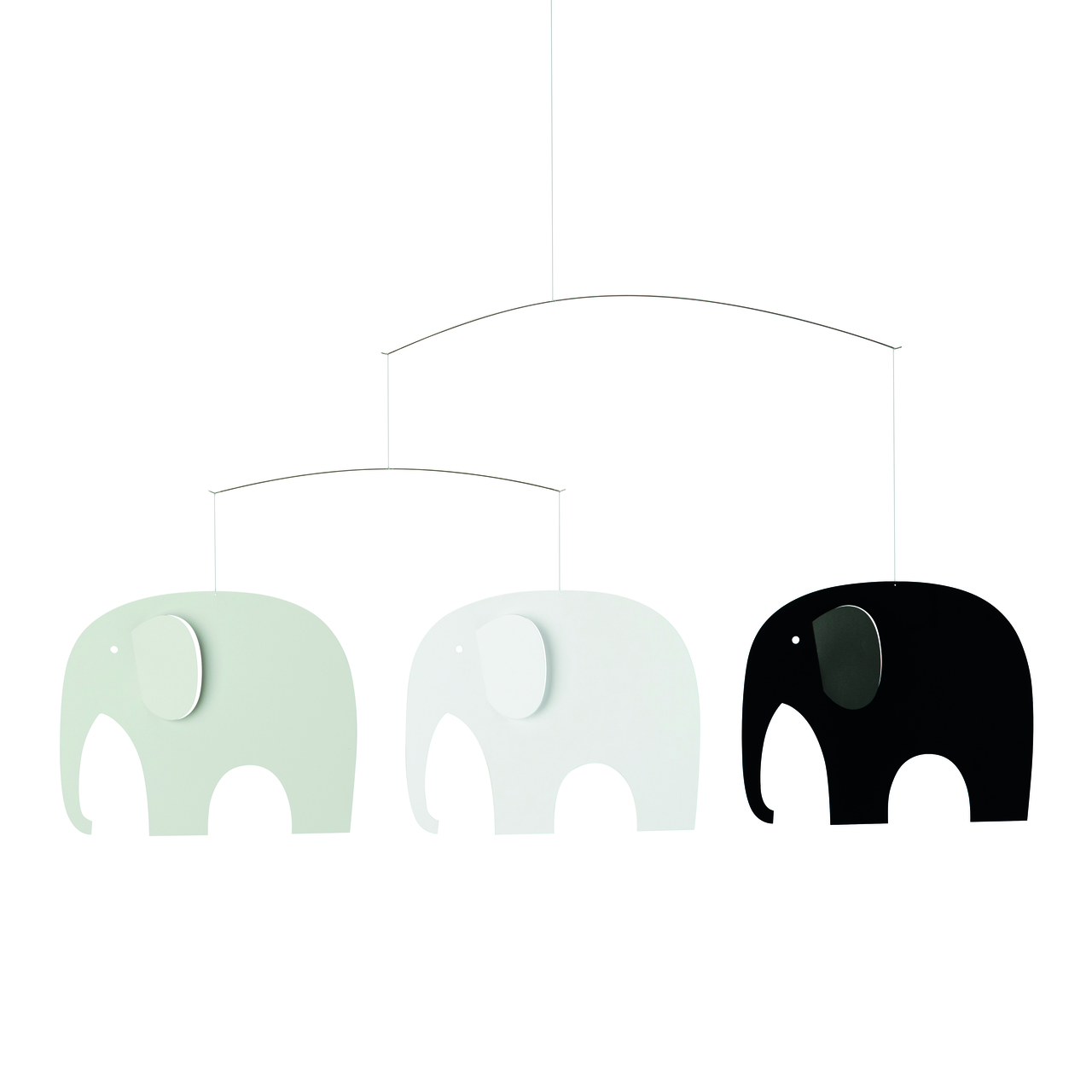 Flensted Elephant Party Black/White