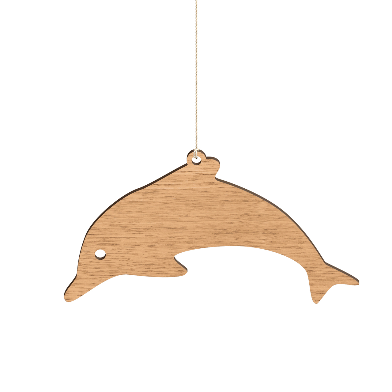 Byrne Woodware Australian Animals Christmas Ornaments Dolphin