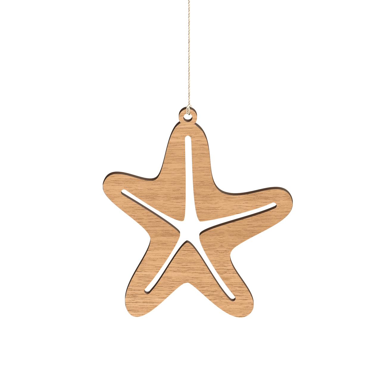 Byrne Woodware Australian Animals Christmas Ornaments Starfish