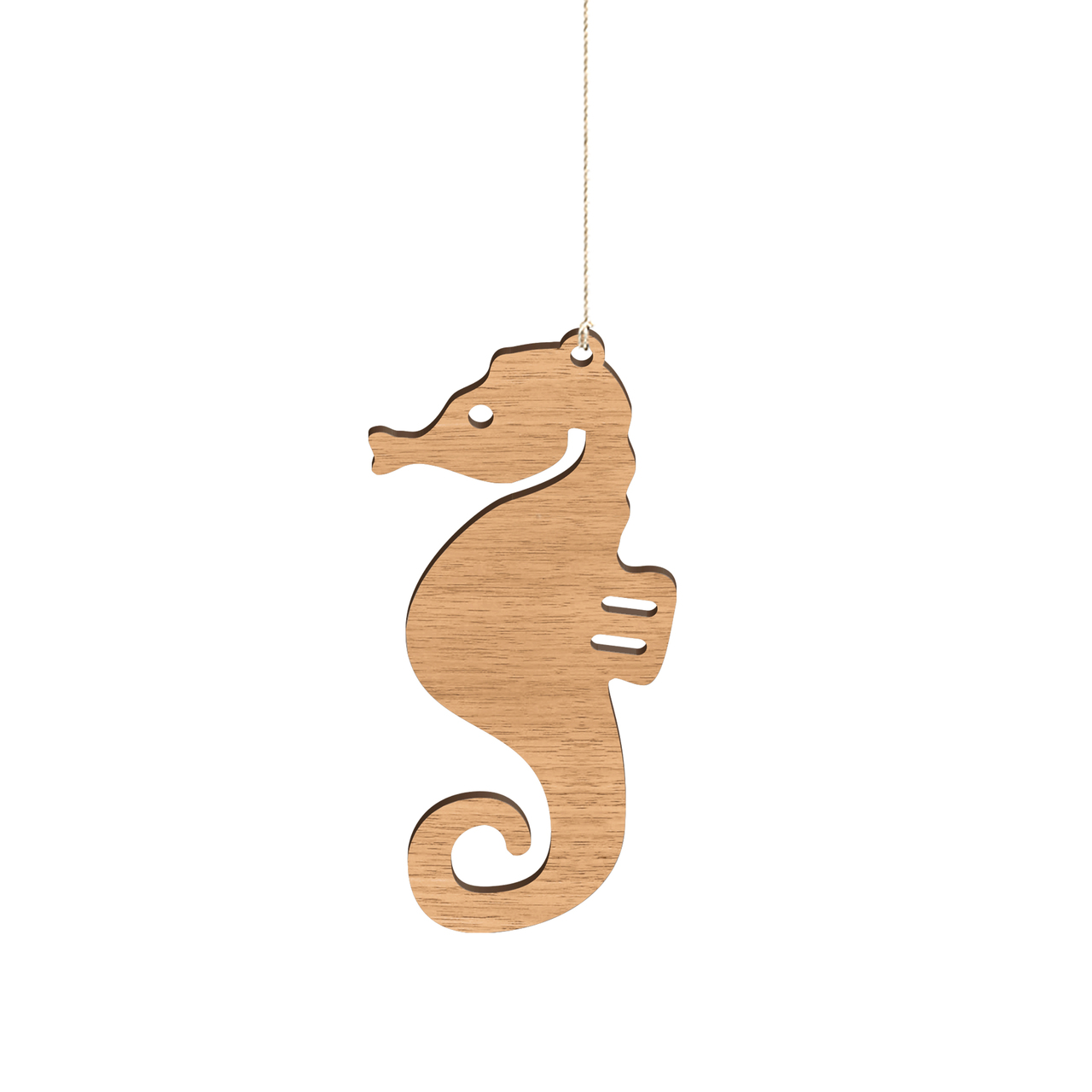 Byrne Woodware Australian Animals Christmas Ornaments Seahorse