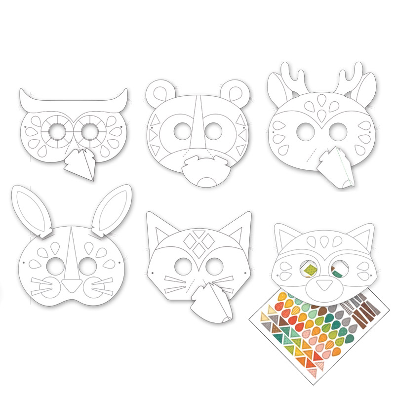 My Crafty Animal Mask Kit