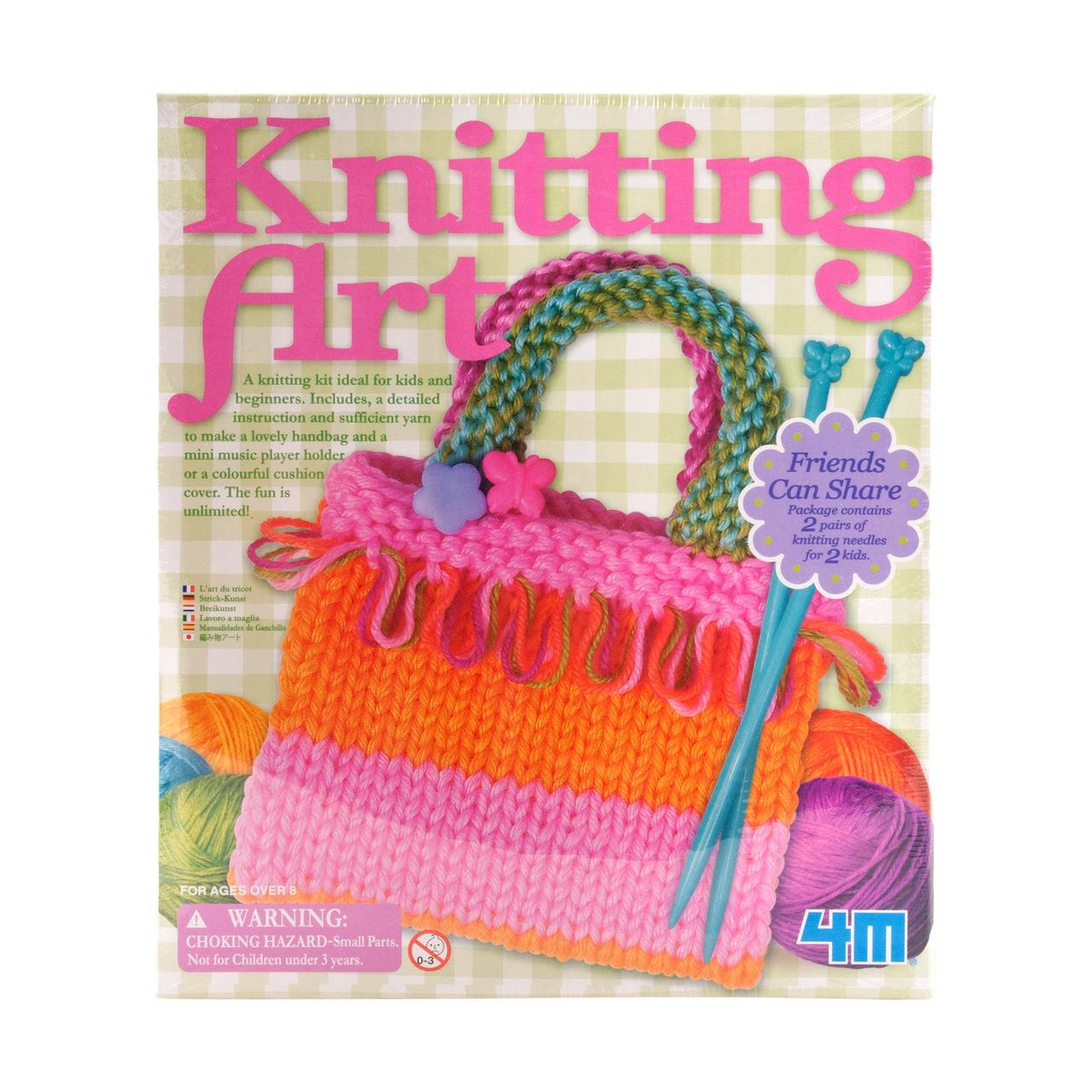 Knitting Art Kit