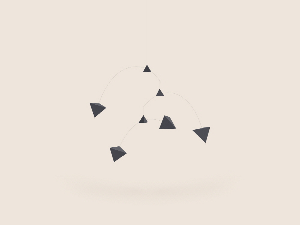 Small Good Things Black Polygon Mobile