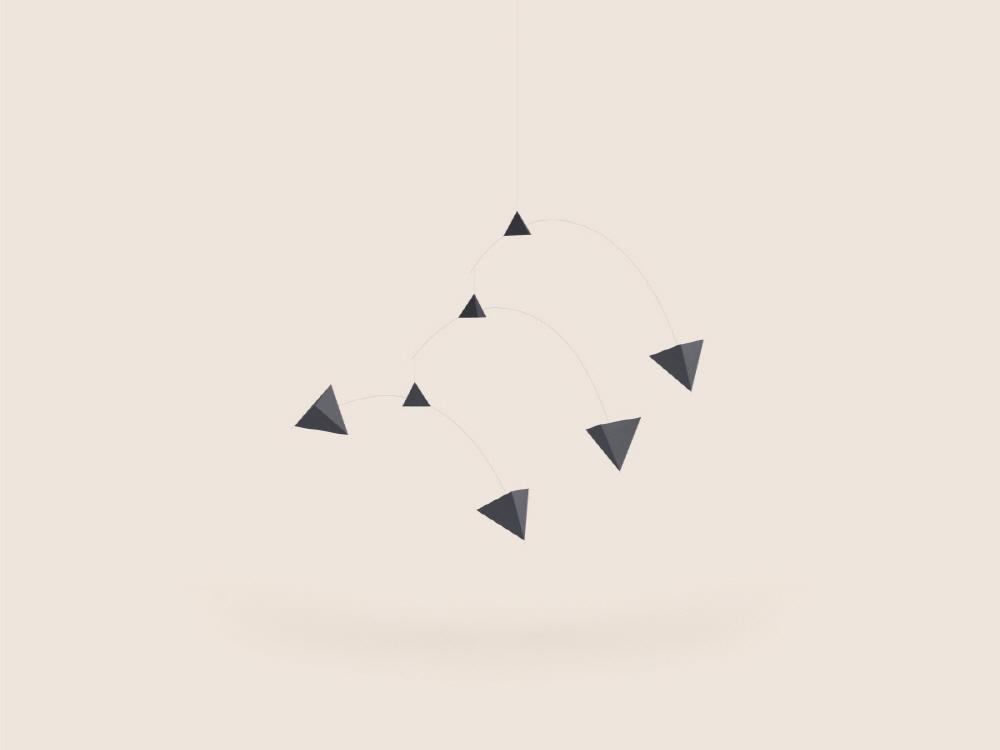Small Good Things Black Polygon Mobile