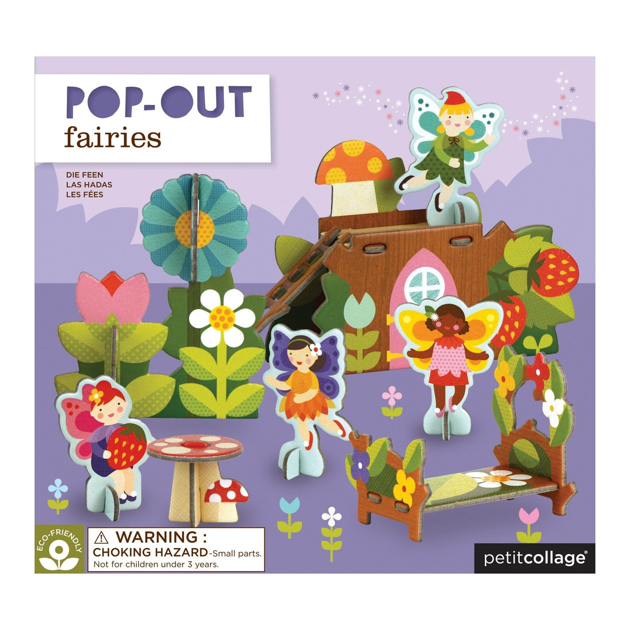 Pop-out and Play Fairies