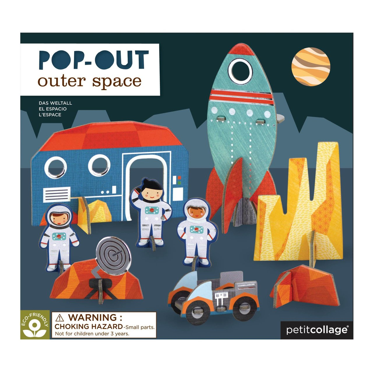 Pop-out and Play Outer Space