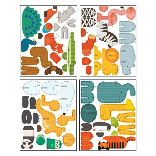 Pop-out and Play Deluxe Animals of the World