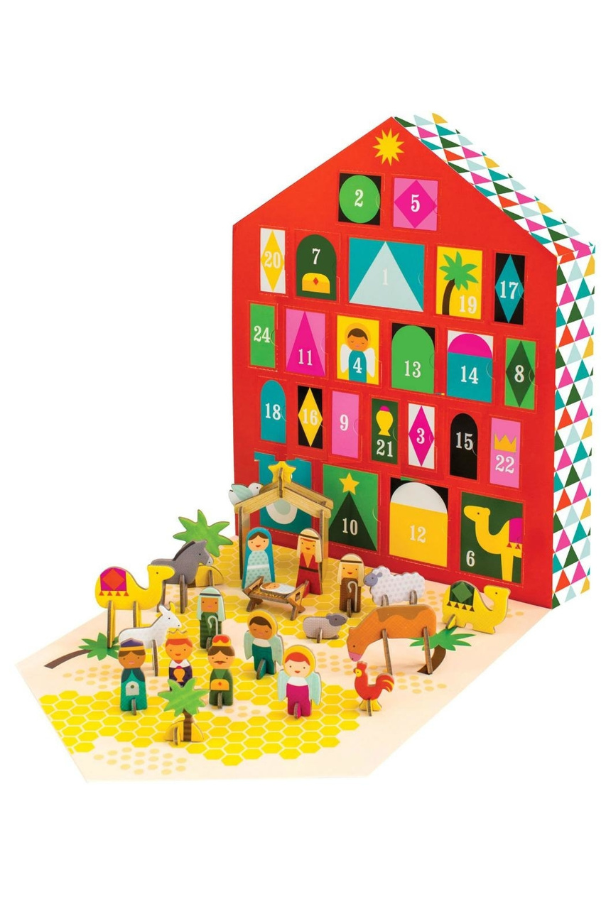 Pop-out and Play Nativity Advent Calendar