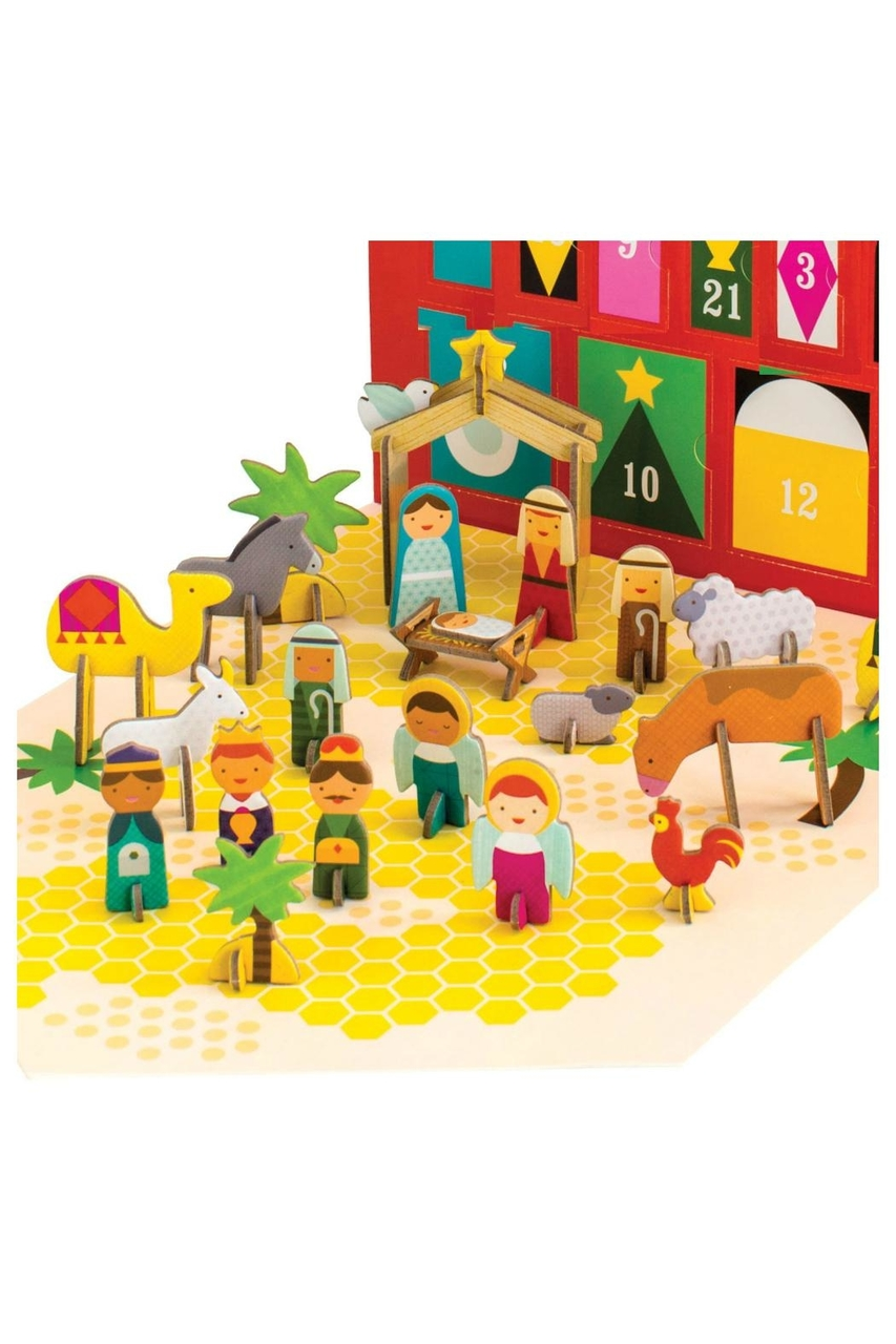 Petit Collage Nativity Advent Calendar