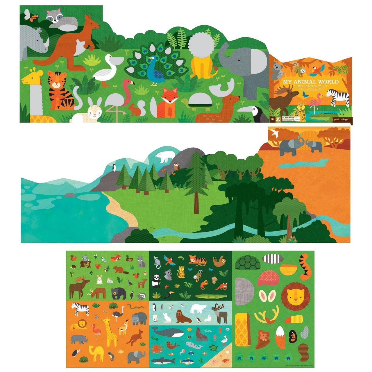 My Animal World Sticker Set