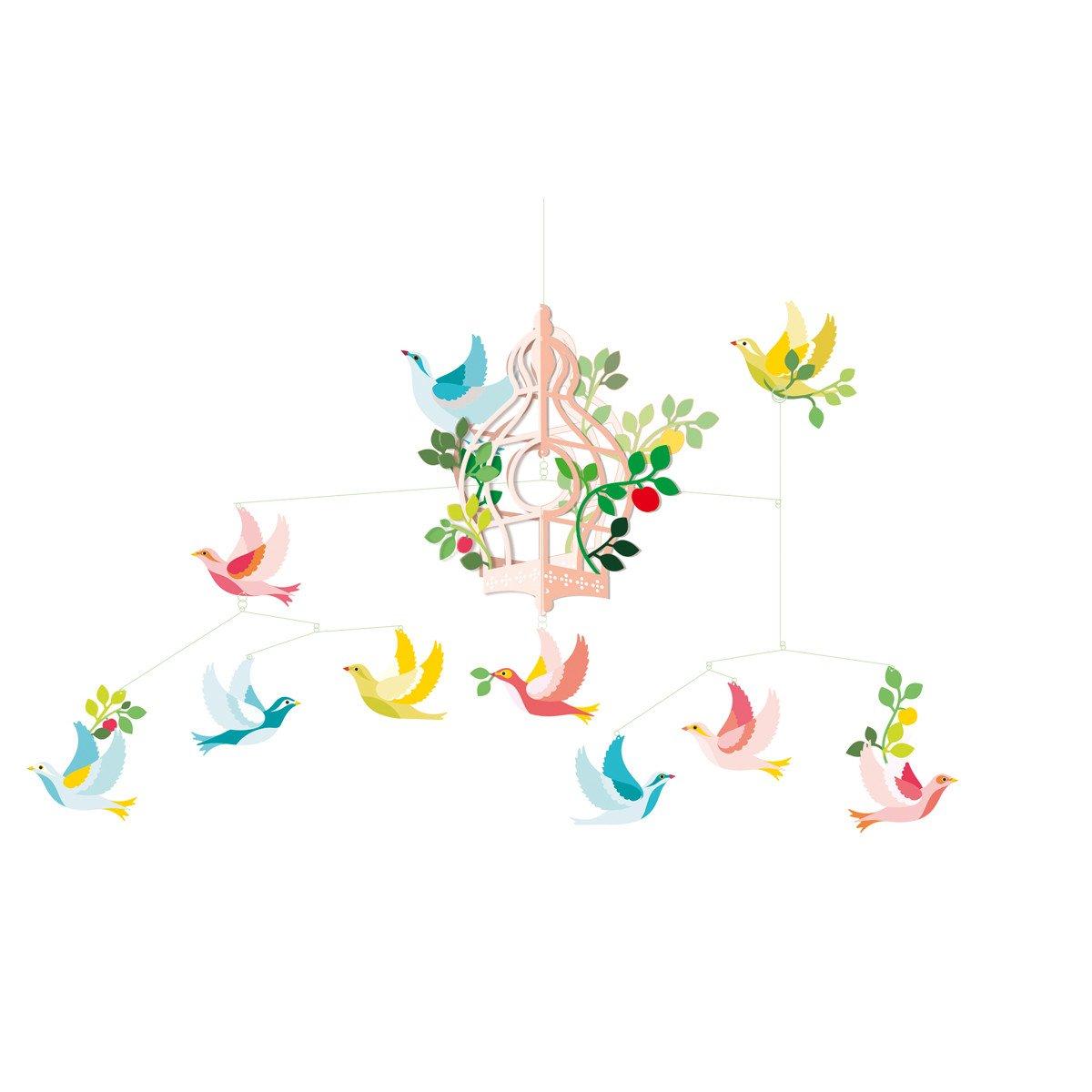 Djeco Birdcage Mobile