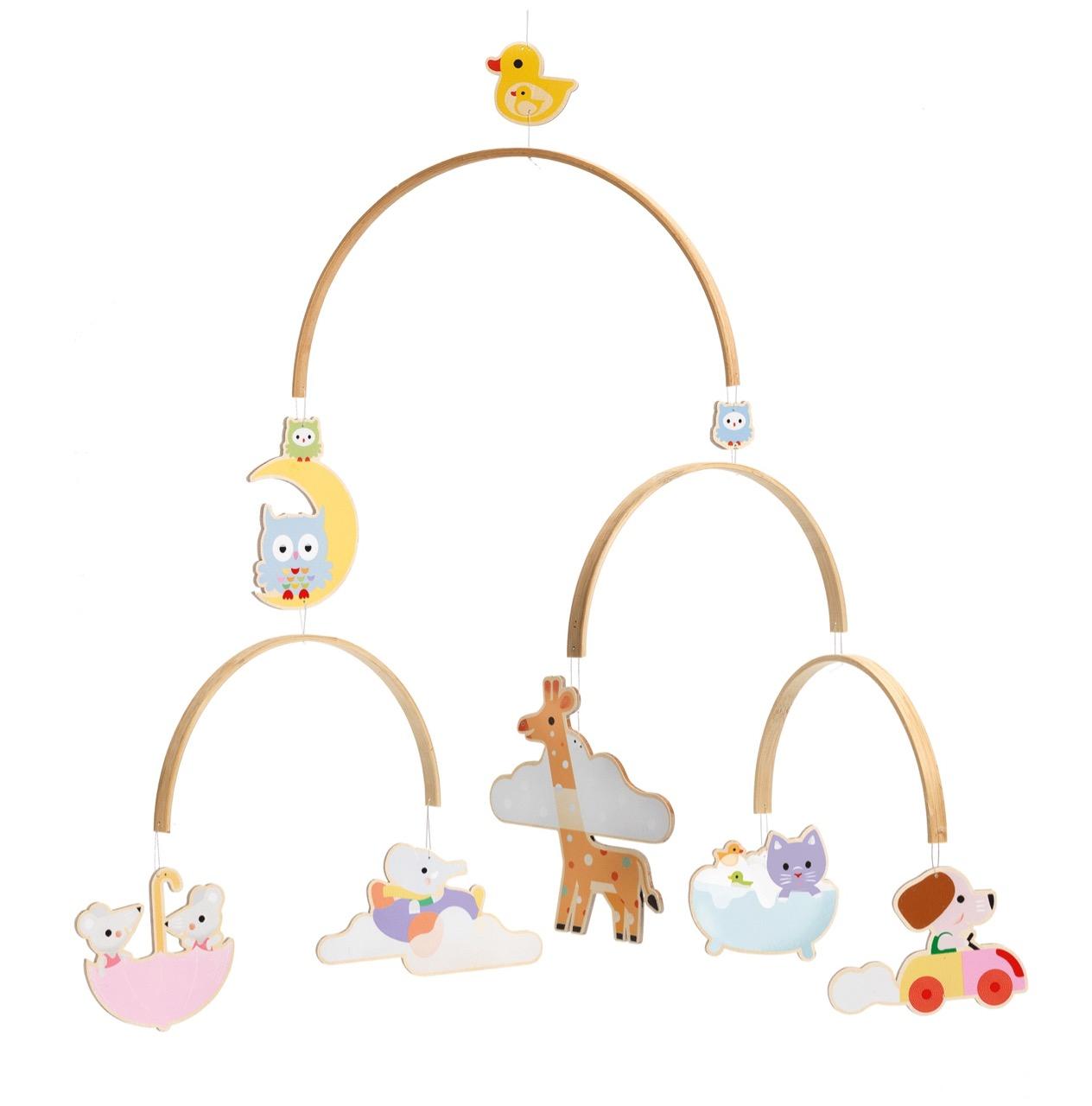 Djeco Baby Animals Mobile