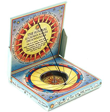 Authentic Models Pocket Sundial Compass