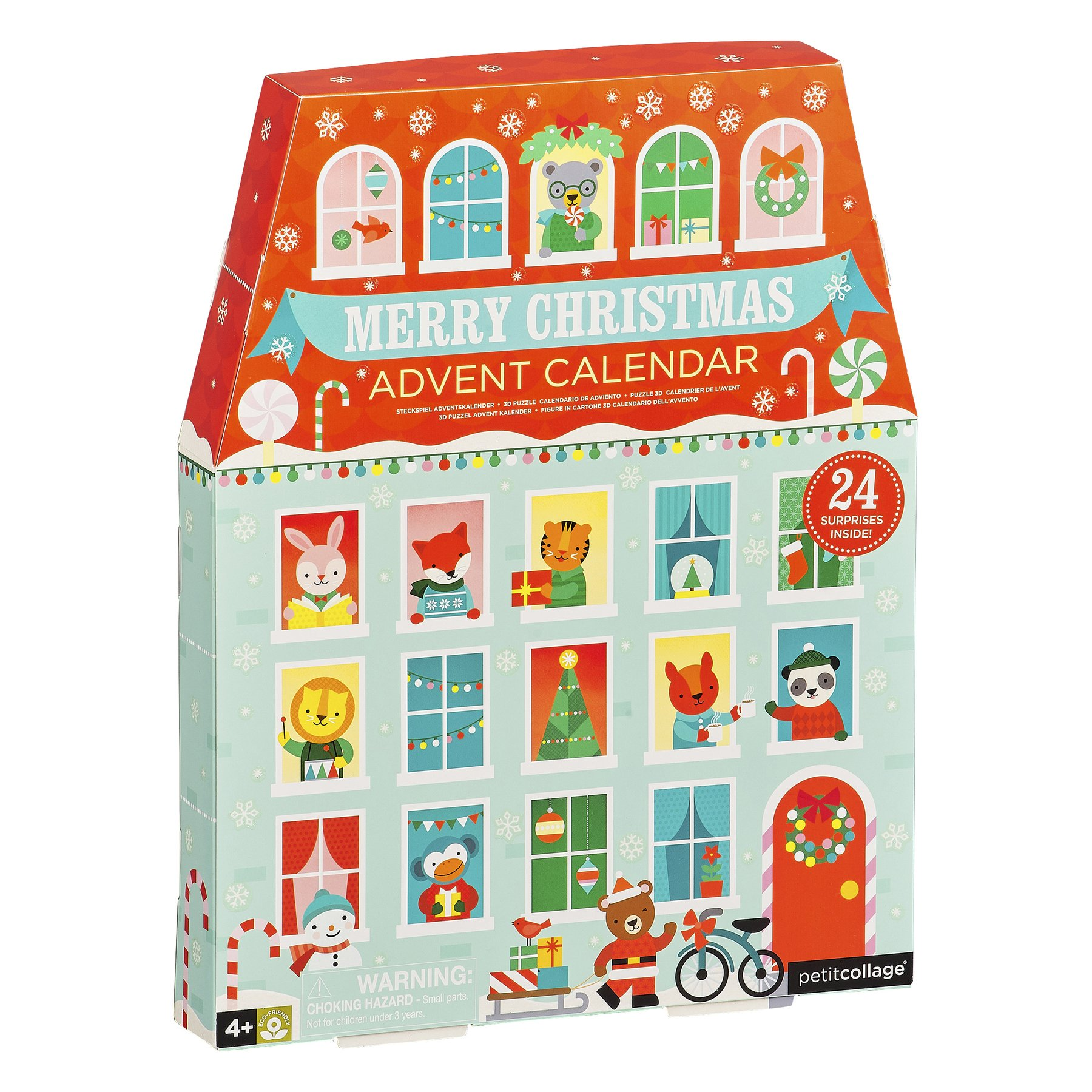 Petit Collage Merry Christmas Advent Calendar