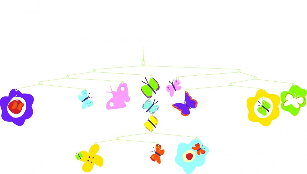 Djeco Butterflies Mobile