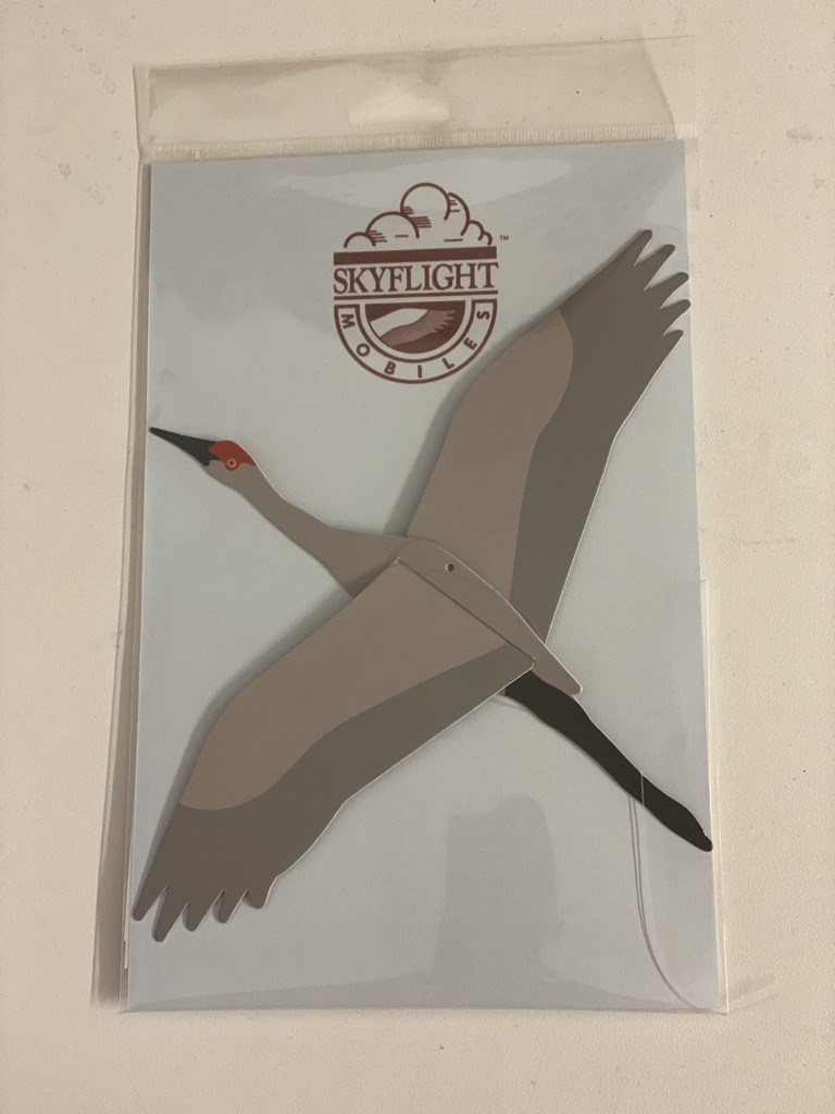 Sandhill Crane Skyflight Single