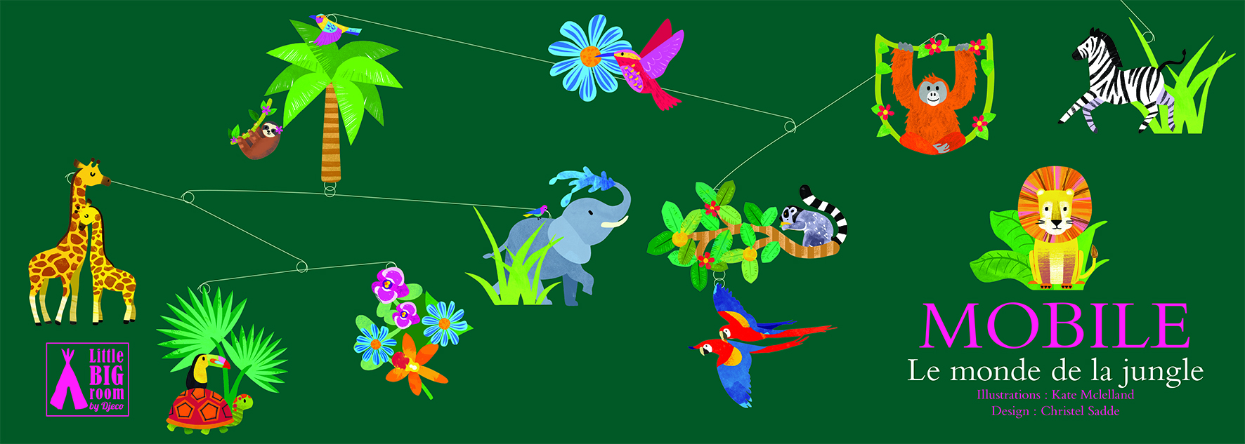 Djeco Jungle World Mobile