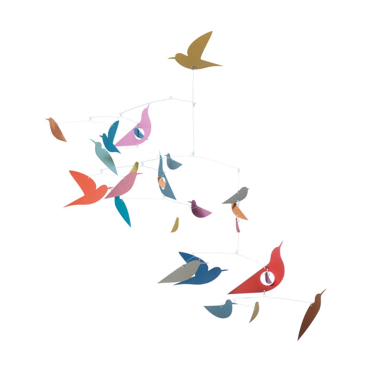 Djeco Birds Mobile, Multicolored